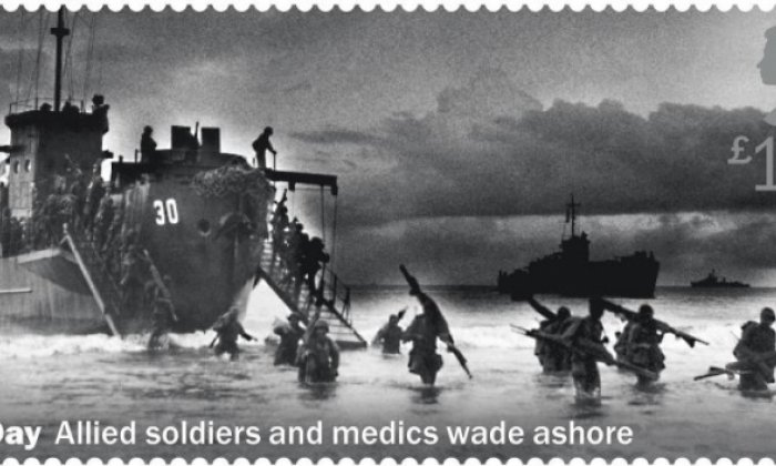 Royal Mail ripped for D-Day stamp depicting the wrong event