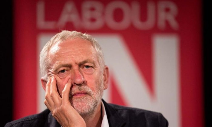 Jeremy Corbyn criticised for saying he would go ahead with Brexit if Prime Minister