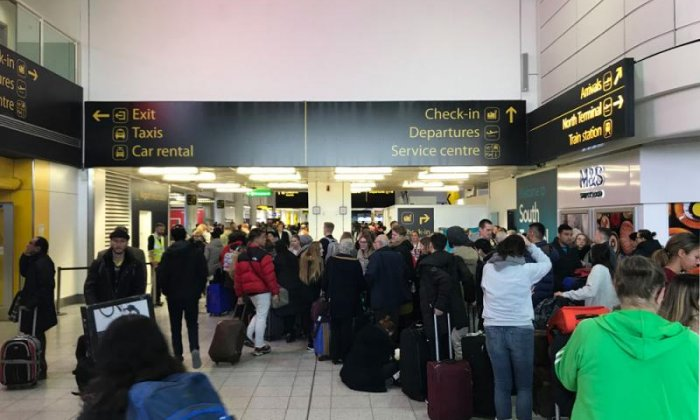 Gatwick drone delays cost one passenger £100 and delay Christmas trips to Lapland