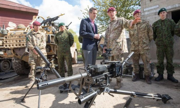 UK could seek new military bases around the world after Brexit, says Defence Secretary Gavin Williamson