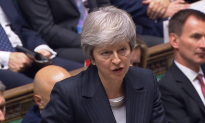 Theresa May accused of allowing EU to use Irish backstop as a 'negotiating ploy'