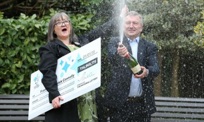 £115 million jackpot winners plan to create more millionaires after NYD windfall