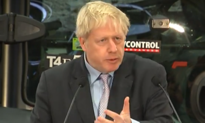 Boris Johnson: Brexit delay would be seen as 'an elite conspiracy to thwart Brexit'