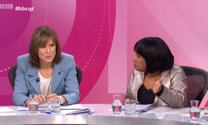 Question Time panellist Isobel Oakeshott: 'I observed nothing but complete professionalism from presenter Fiona Bruce'