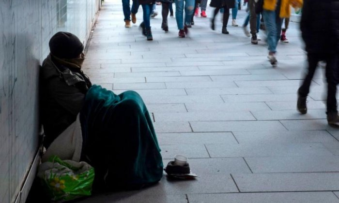 Rough sleeping in England rises 165% since 2010