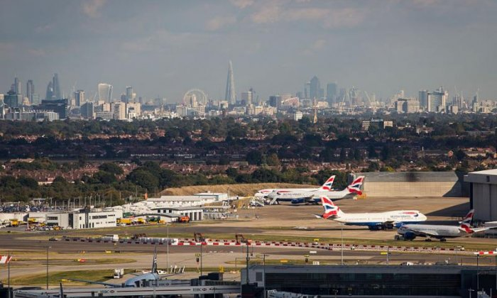 Flights grounded at Heathrow airport over reports of drone sighting