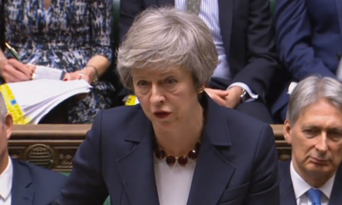 Theresa May's Brexit plan suffers second Commons defeat in 24 hours