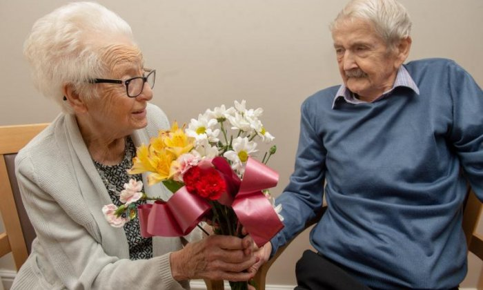 95-year-old couple set to celebrate their 75th Valentine's Day together