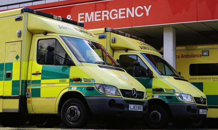 A&E waiting times at worst level since NHS records began in England