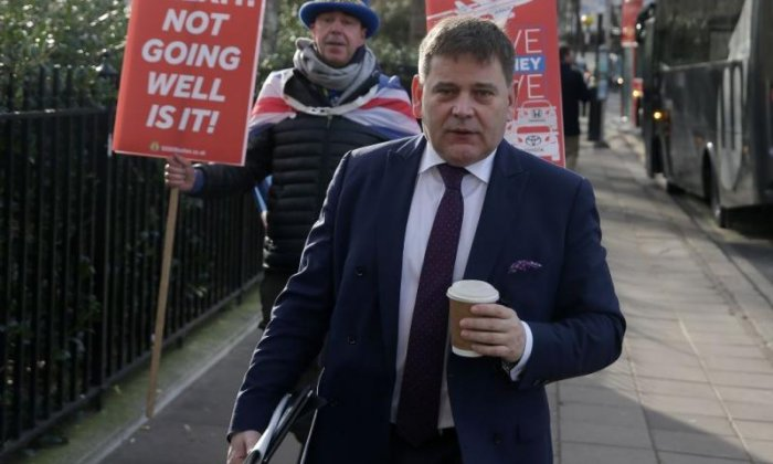 Andrew Bridgen: 'Nigel Farage's Brexit party is a Damocles sword over the Conservative Party'