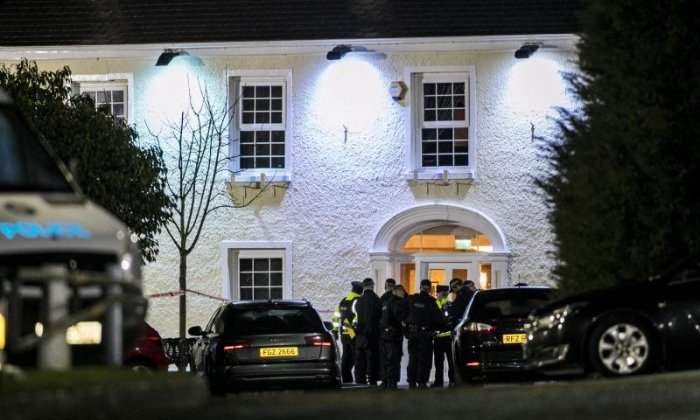 Police at Cookstown hotel