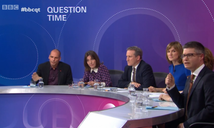 BBC Question Time faces backlash for LGBT education question