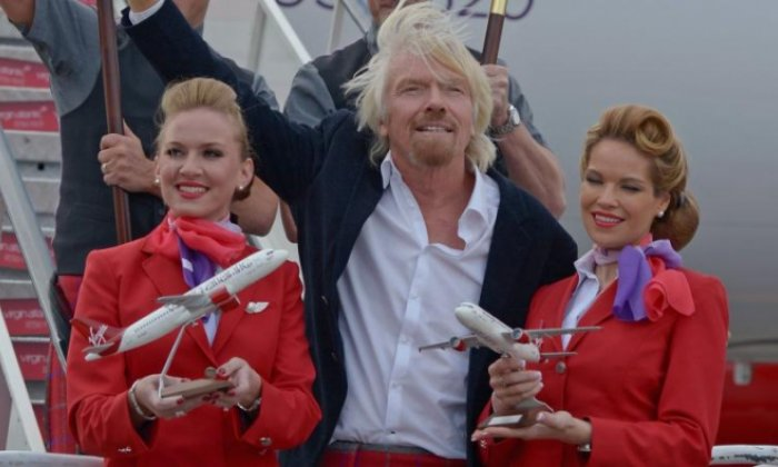 Virgin Atlantic female cabin crew no longer have to wear make-up