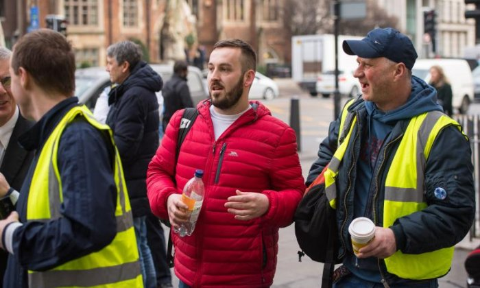 'Yellow vest' protester James Goddard pleads not guilty to harassing MP Anna Soubry