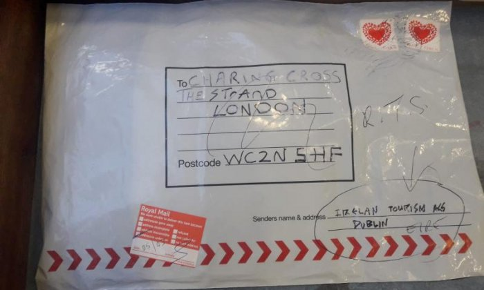 Limerick parcel bomb 'identical' to devices posted to GB