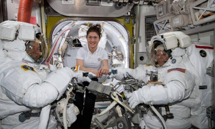NASA's first all-female spacewalk cancelled due to spacesuit size issue