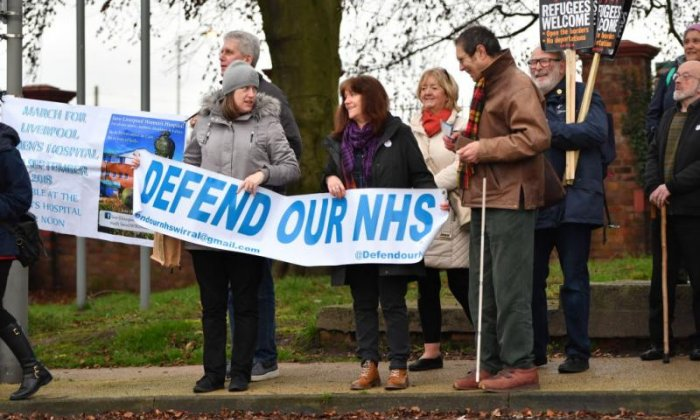 UK does not 'spend enough' on the NHS