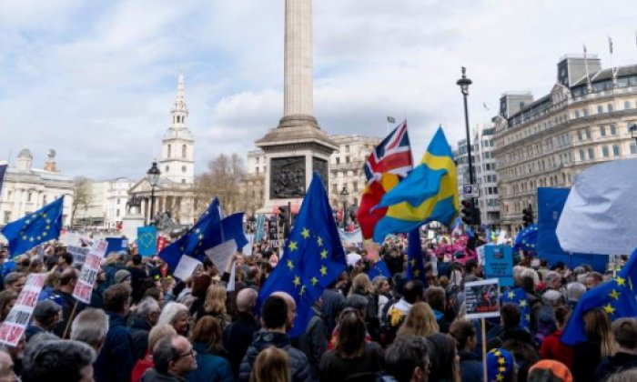 One million join anti-Brexit march in London, demand new referendum