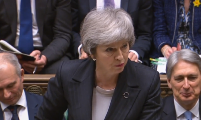 Theresa May: Responsibility of knife crime 'lies with the perpetrators'