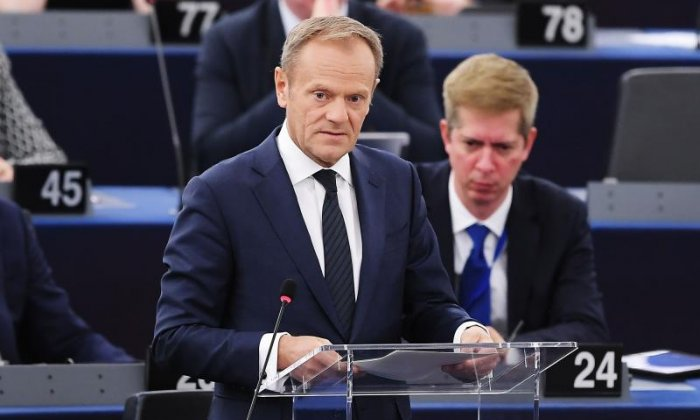 Donald Tusk 'dreams' of Brexit being reversed