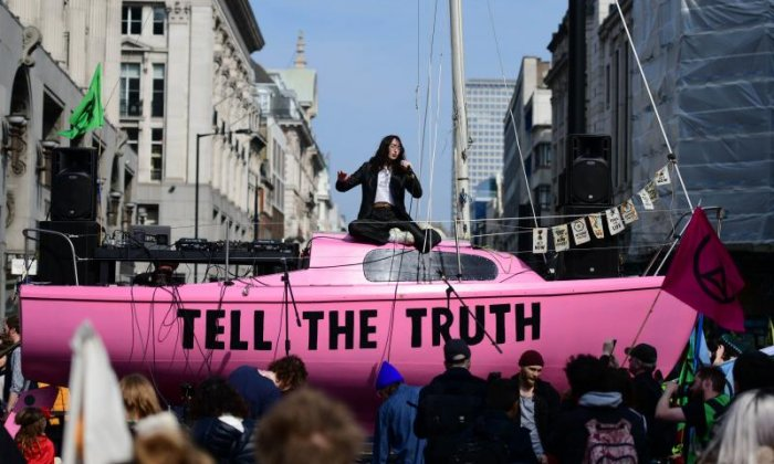 Climate protesters are 'ordinary people who need to be heard'