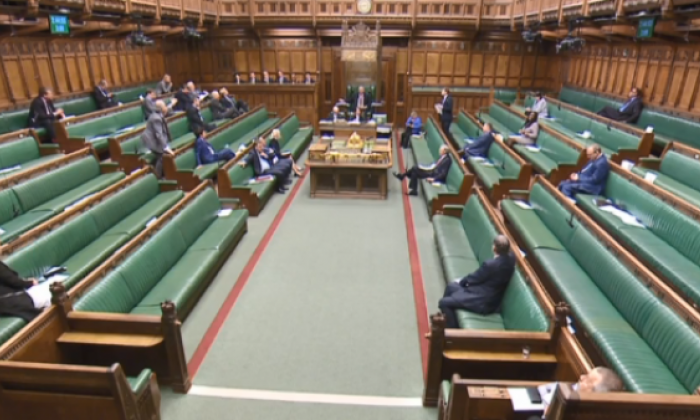 Rain stops play: United Kingdom parliament forced to close after water leak