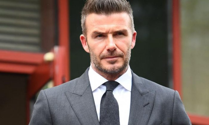 David Beckham given six month driving bn for using mobile