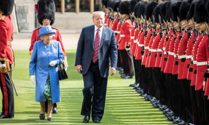 Majority of Britons back Trump's state visit, survey suggests