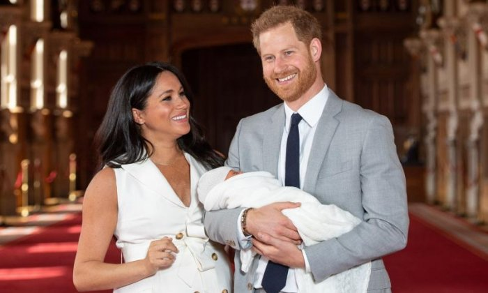 Royal baby: Duke and Duchess of Sussex name son Archie
