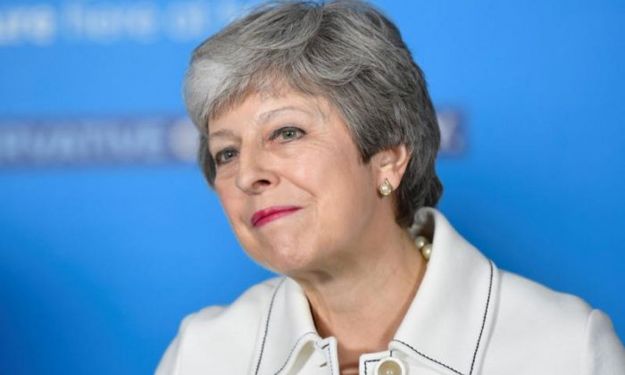 Andrew Bridgen brands Theresa May 'isolated beleaguered PM'