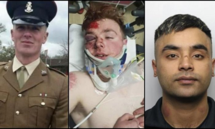 Man jailed for eight years after mowing down soldier