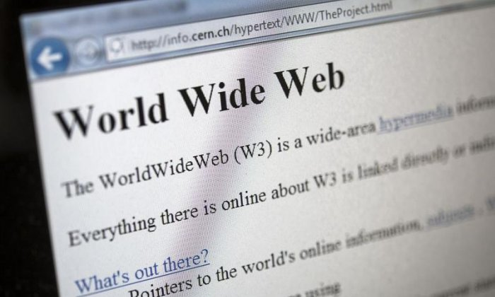 Half of Britons not aware worldwide web a UK invention, study finds