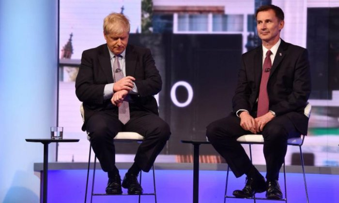 Jeremy Hunt hits out at Boris Johnson over no-deal Brexit letter