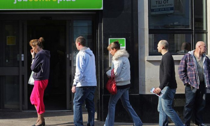 Record employment holds up in face of shrinking UK economy
