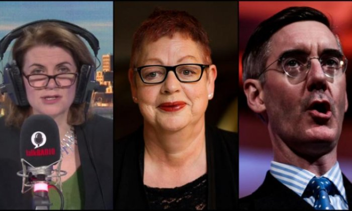 Jacob Rees-Mogg: Jo Brand's 'tasteless' acid joke 'misfired'