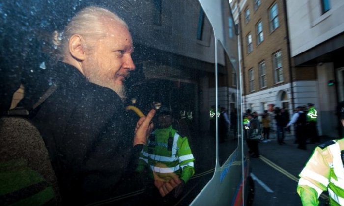 Sajid Javid signs request for Assange to be extradited to US