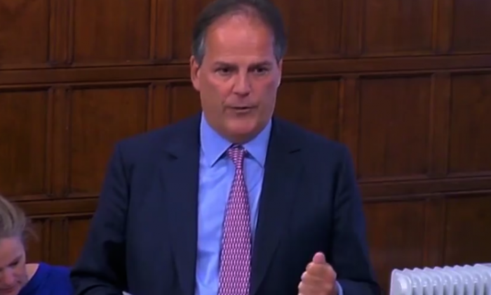 Mark Field suspended after physically removing protester from event
