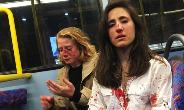 Teenagers admit homophobic London bus attack on two women