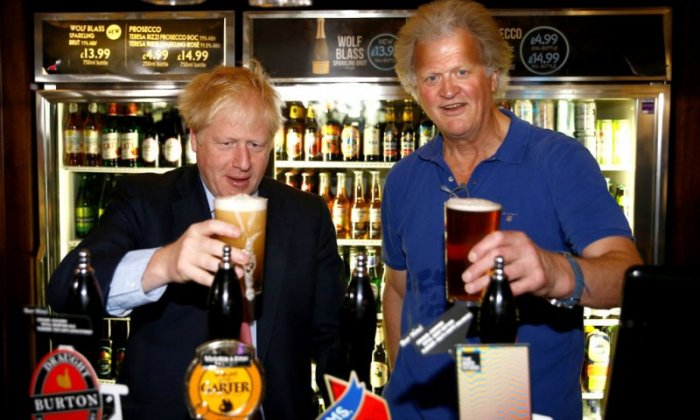 Wetherspoons boss Tim Martin is £44 million richer today after election result
