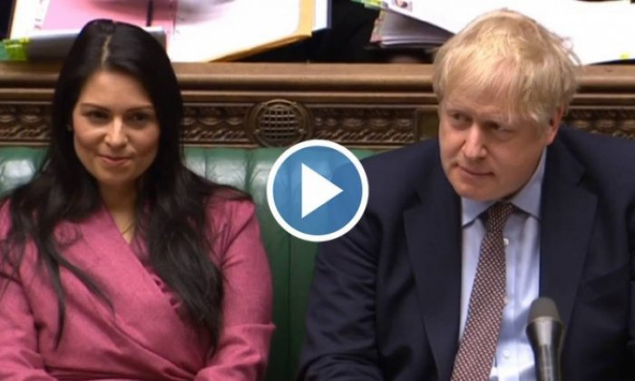 Priti Patel: Home Secretary expresses regret at top official's resignation
