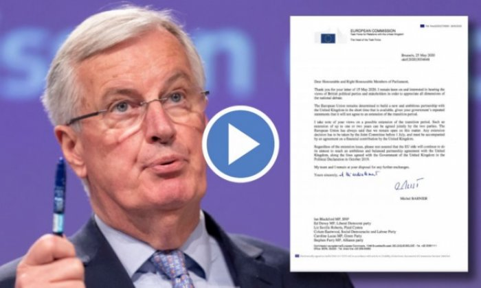 Michel Barnier: EU 'open' to two-year Brexit extension