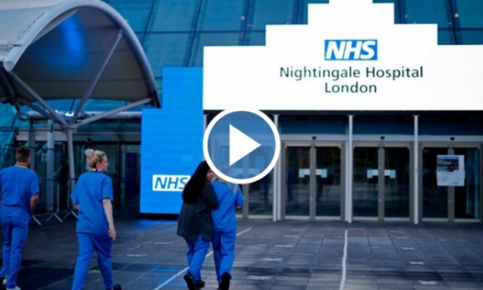 Only one Nightingale hospital in use as London centre is mothballed