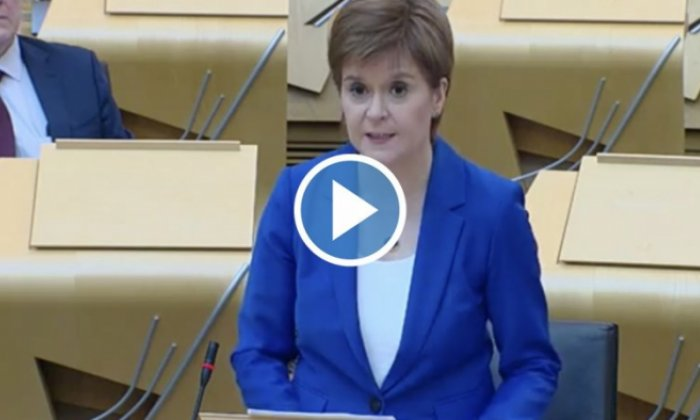 Nicola Sturgeon reveals plan for easing Scotland's lockdown
