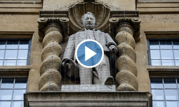 Renewed calls to remove statue of imperialist Cecil Rhodes