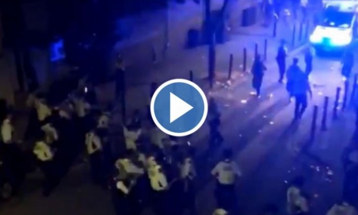 Police attacked at illegal music event in west London