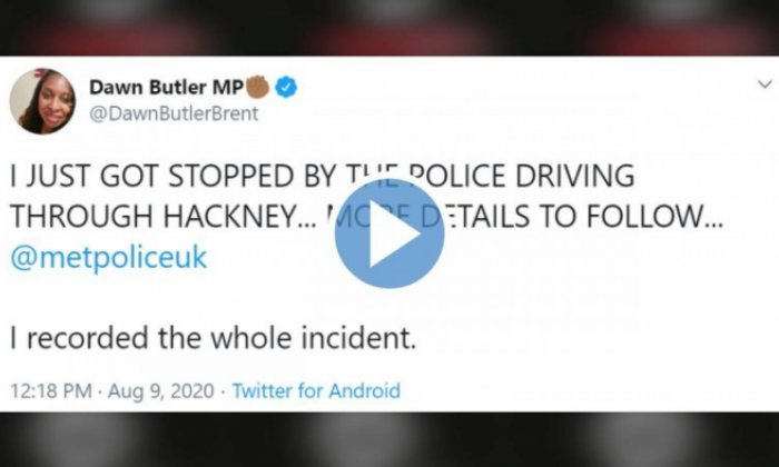 'Racist trolls' attack UK MP who accused police of profiling black drivers