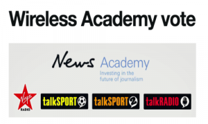 Vote for your favourite in the Wireless Academy shortlist