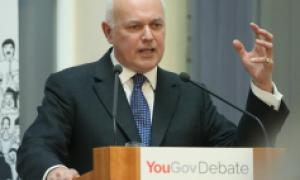 Iain Duncan Smith was bullish in his interview with Julia Hartley-Brewer
