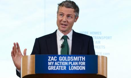 London housing market is in 'crisis', insists Zac Goldsmith