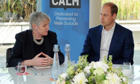 Charity cheif Jane Powell has praised the Duke of Cambridge for his speech urging men to talk about their issues
